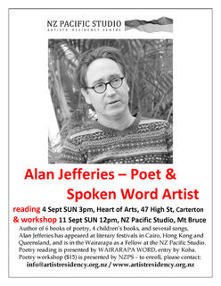 Poetry Workshop with Alan Jefferies