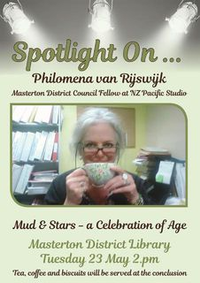 Meet author Philomena van Rijswijk at Masterton District Library - 23 May 2pm