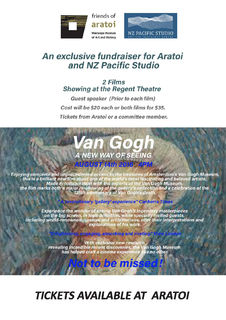 Two films -- on VAN GOGH & on the IMPRESSIONISTS