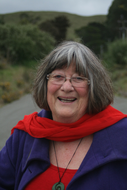 Gaye Sutton - storyteller/author & 2016 Masterton Fellow